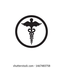 medical snake icon vector illustration design