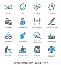 Medical Specialties Icons Set 2 - Sympa Series
