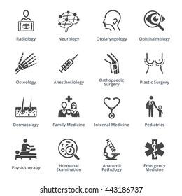 Medical Specialties Set 3 - Black Series