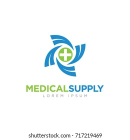 Medical Supply Company Business Logo