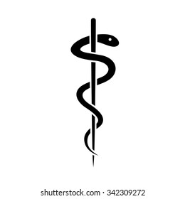 Medical symbol of the Emergency - Star of Life . Vector illustration