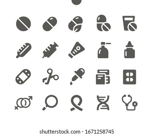 Medical v1 UI Pixel Perfect Well-crafted Vector Solid Icons 48x48 Ready for 24x24 Grid for Web Graphics and Apps. Simple Minimal Pictogram