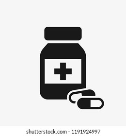 Medication vector icon