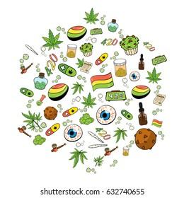 Bud Weed Images Stock Photos Vectors Shutterstock