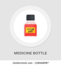 medicine bottle icon - medicine pill - pharmacy drug - health care icon