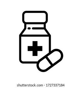 Medicine and health icon set