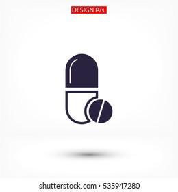 Medicine icon Vector 10 EPS