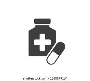 medicine icon. vector