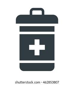 Medicine Jar Vector Icon