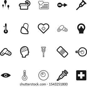 medicine vector icon set such as: ivf, beautiful, vision, treatment, laboratory, face, heat, physiotherapy, summer, hot, device, sick, fun, smile, mercury, logo, climate, dna, model, season