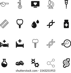 medicine vector icon set such as: strip, physiotherapy, fertiliser, men, cold, girl, thermometer, gender, electrocardiogram, bottle, dose, therapy, egg, ophthalmology, capsule, pictogram, fracture