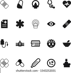 medicine vector icon set such as: microbe, tablet, cardiogram, bandaid, graphic, injury, insignia, liquid, snake, red, infection, spectrum, bacteria, sick, gauze, accident, scale, beat, curve