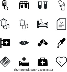 medicine vector icon set such as: icons, work, pack, femur, optical, wave, blue, strip, sick, serum, lab, pipette, abstract, element, bright, pathology, box, disease, light, blister, joint, data