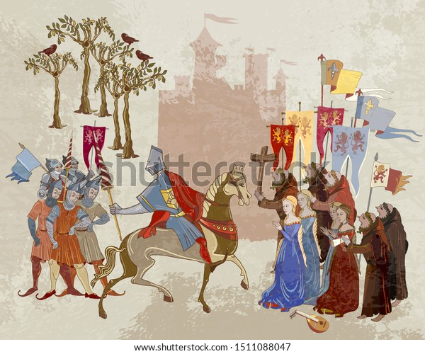 Paper Soldiers of the Middle Ages the Crusades