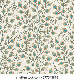Medieval Seamless Pattern.