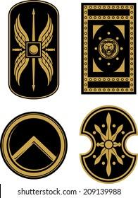 Medieval Soldier Shields
