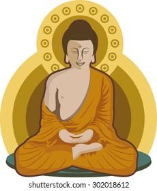 Meditating Buddha - Meditation Position