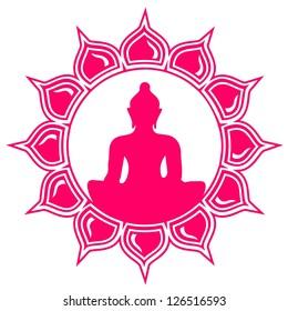 Meditation - Buddha - Lotus Flower - Symbol of enlightenment and balance