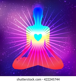 Chakra Meditation Images, Stock Photos & Vectors | Shutterstock