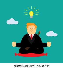 Meditation for idea