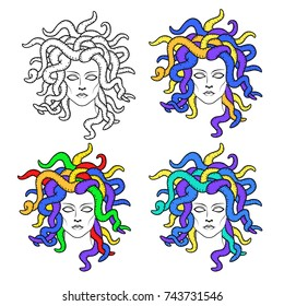 Medusa Gorgon dreadlocks