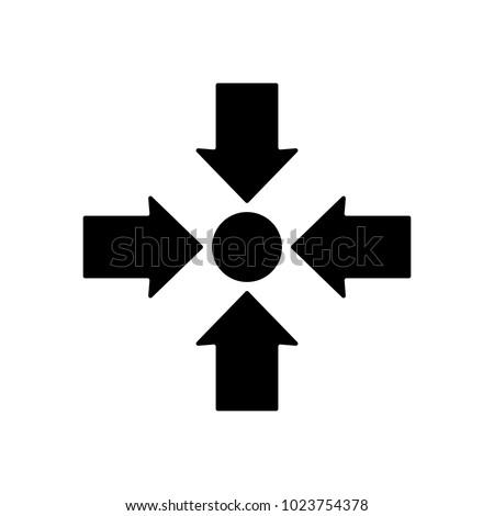 meeting point icon design vector illustration のベクター画像素材