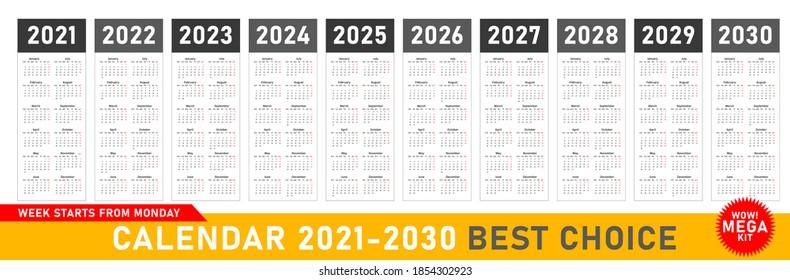 Wow Calendar 2022.Year 2028 Images Stock Photos Vectors Shutterstock