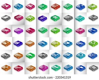 Mega Collection of  Development Icons Design