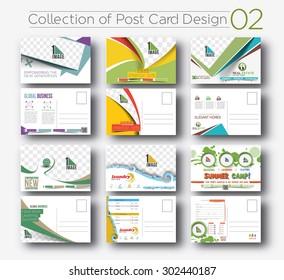 Mega Collection of Postcard Design for Opening invitation Bundel.2