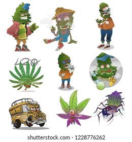 mega pack weed mascot 420