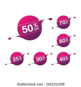 Mega Sale Sign 50% Off