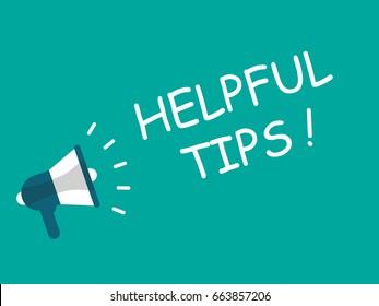 Megaphone - Helpful tips