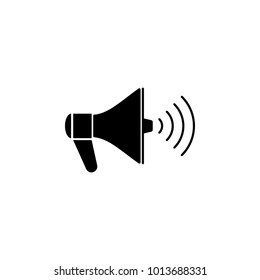 megaphone icon. Elements of news and media streaming icon. Premium quality graphic design. Signs, symbols collection icon for websites, web design, mobile app, graphic on white background