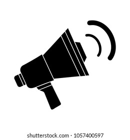 megaphone icon - loud speaker