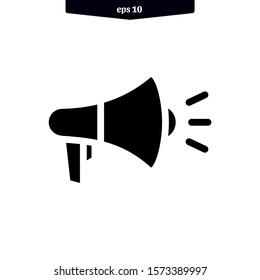 Megaphone icon. speaker icon vector illustration