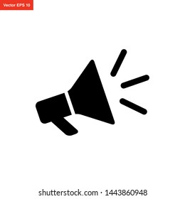megaphone icon vector design template