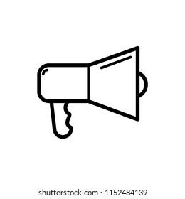 megaphone icon vector template