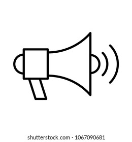 megaphone speaker ads