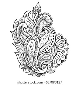 Mehndi Art Images, Stock Photos \u0026 Vectors