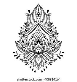 Henna Tattoo Images Stock Photos Vectors Shutterstock