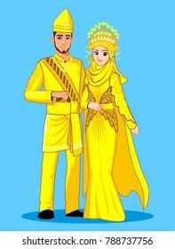 Melayu Deli Wedding Couple
