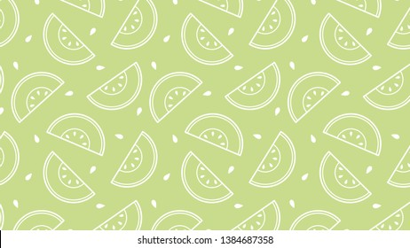 melon vector. melon pattern vector. wallpaper. copy space.