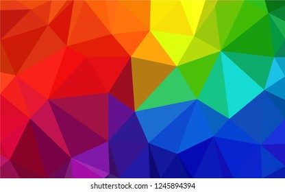 Melticollor geometric background