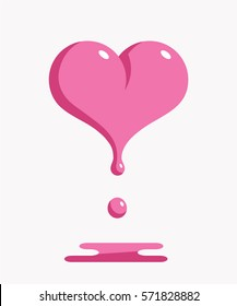 Melting heart Vector Image - 1396275   StockUnlimited