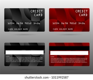 member card, business VIP card, design for privilege member,modern credit card, vector