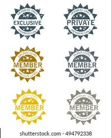 Membership Stamps