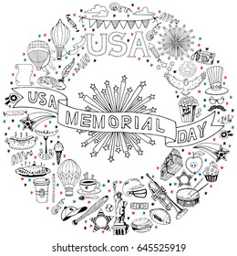 4th July Coloring Pages Images, Stock Photos & Vectors ...