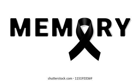Black Ribbon for Rip Images, Stock Photos & Vectors