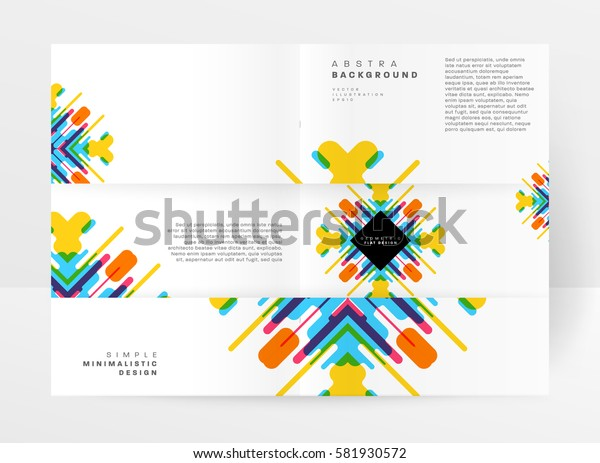 Memphis Geometric background Template for covers, flyers, banners, posters and placards, may be used for presentations and books, EPS10 vector illustration