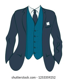 Men business jacket